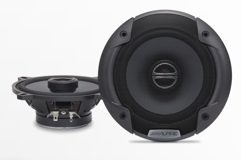 "Alpine SPE-5000 5-1/4"" SPE Series 2-Way Car Speakers"