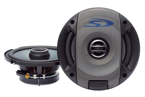 "Alpine SPS-600 6.5"" Type S 2-Way Coaxial Car Speakers"