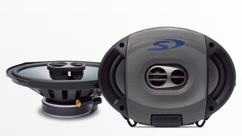 "Alpine SPS-609 6 x 9"" Type S 3-Way Coaxial Car Speakers"