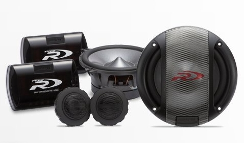 "Alpine SPR-17S 6.5"" Type R 2-Way Component Car Speakers"