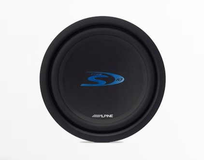 "Alpine SWS-1043D Type-S 10"" Car Subwoofer"