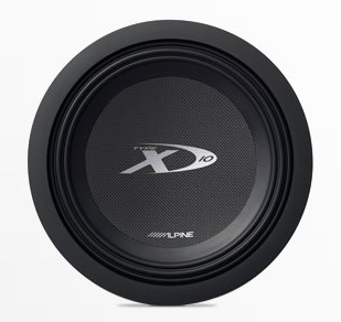 "Alpine SWX-1043D Type-X 10"" Car Subwoofer"
