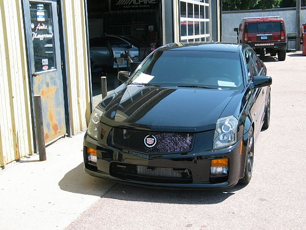 Tom's Caddy CTS-V
