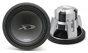 "Alpine SWX-1243D Type-X 12"" Car Subwoofer"