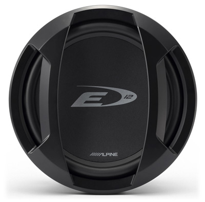 "Alpine SWE-1243 Type-E 12"" Car Subwoofer"