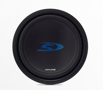 "Alpine SWS-1243D Type-S 12"" Car Subwoofer"