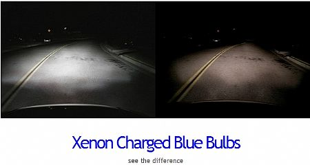 Xenon Charged Blue Bulbs